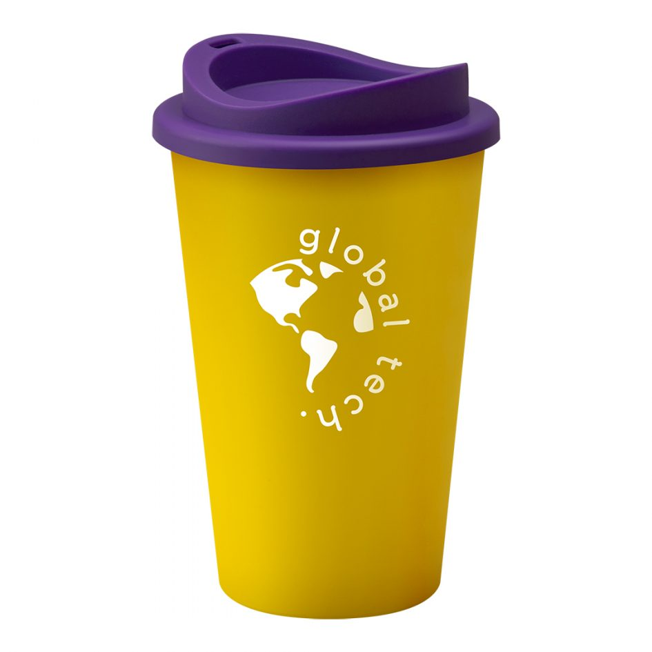 Printed Promotional Universal Tumbler Yellow