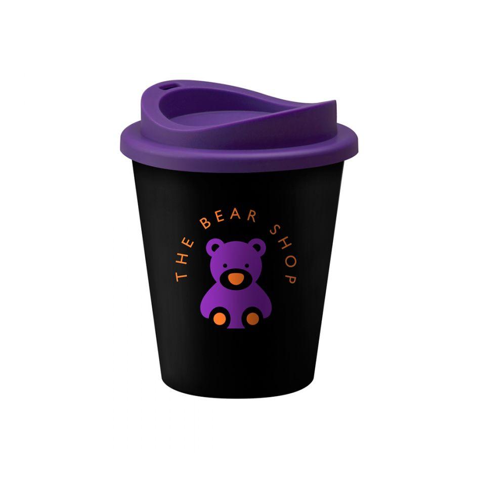 Printed Promotional Universal Vending Cup Black