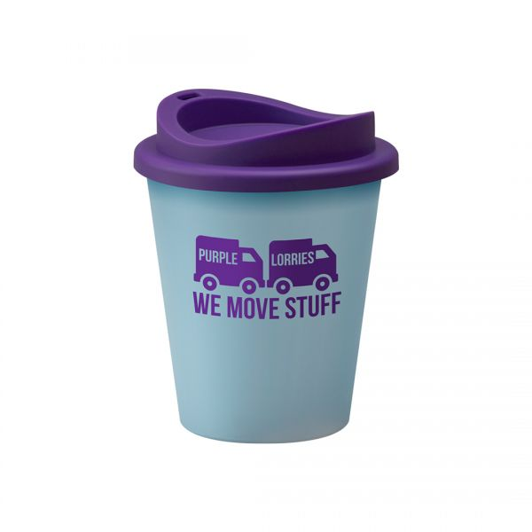 Printed Promotional Universal Vending Cup Light Blue