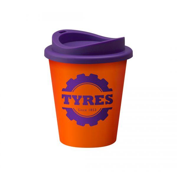 Printed Orange Universal Vending Cup