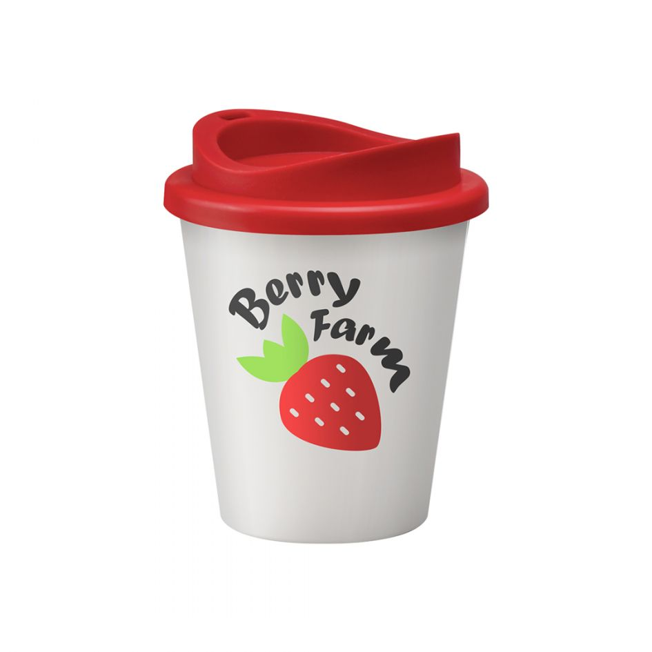 Printed Promotional Universal Vending Cup White
