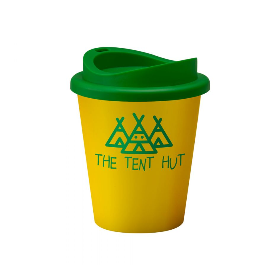 Printed Promotional Universal Vending Cup Yellow