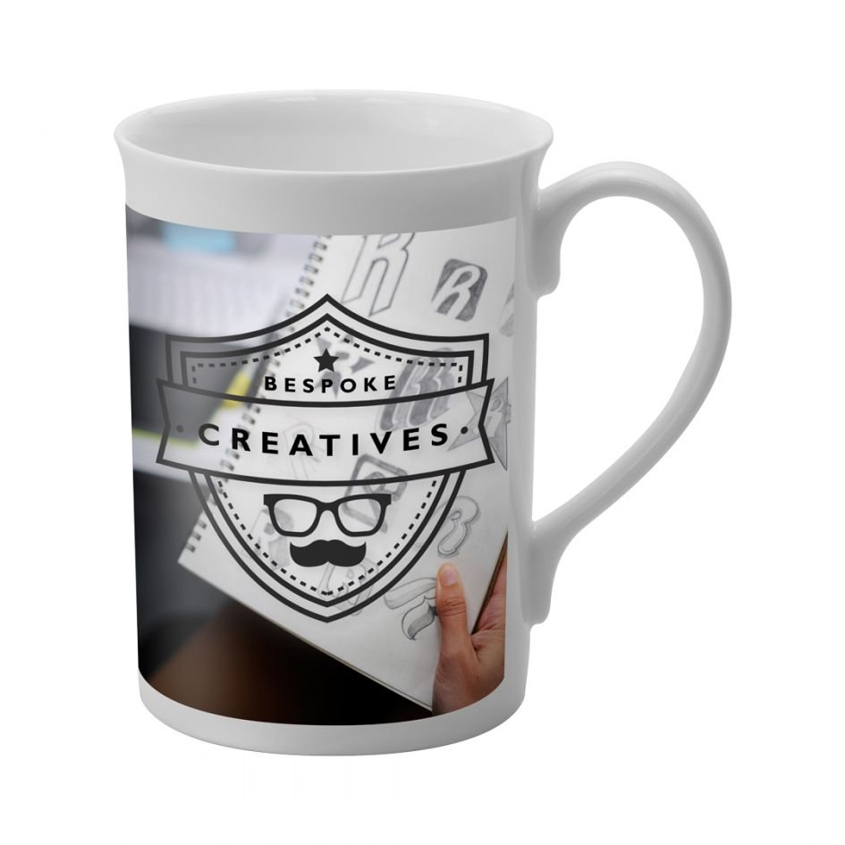 Printed Promotional Windsor Dye Sublimation Mug