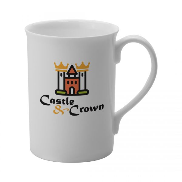 Printed Promotional Windsor Mug White